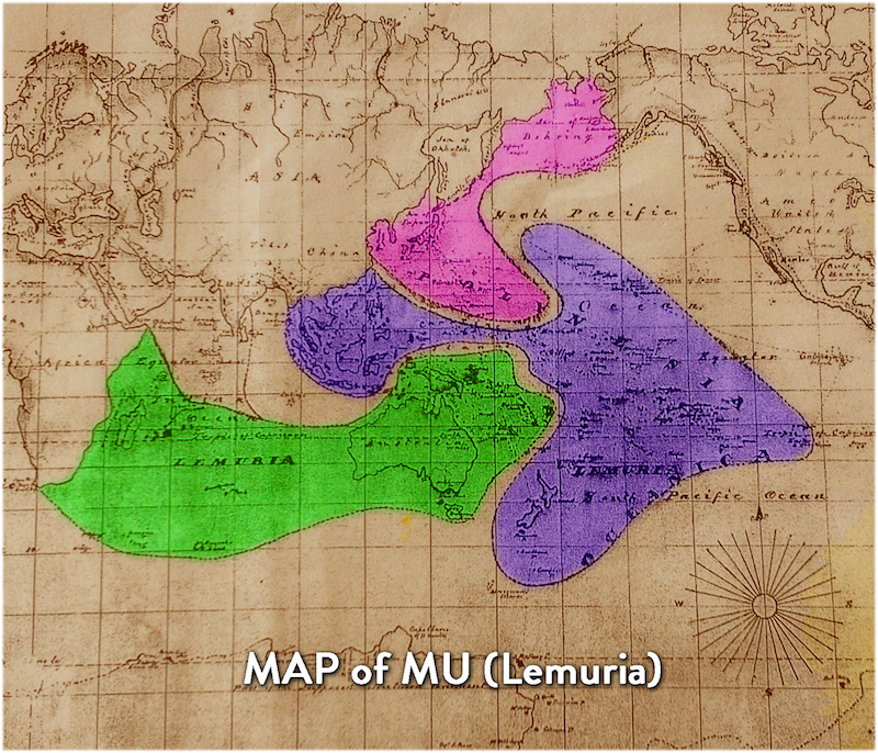 Map of MU (Lemuria)