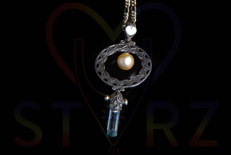 Golden Pearl Moon Lantern
