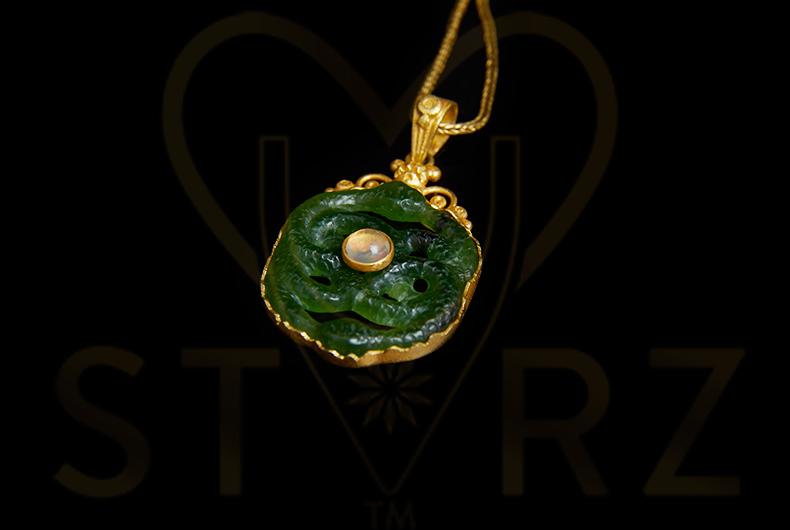 Ouroboros Jade Opal 22k