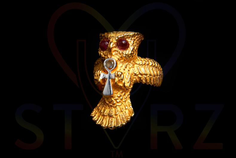 RA OWL Ankh